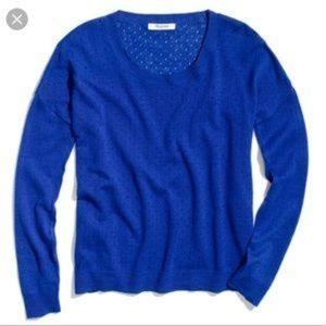Madewell pinhole sweater